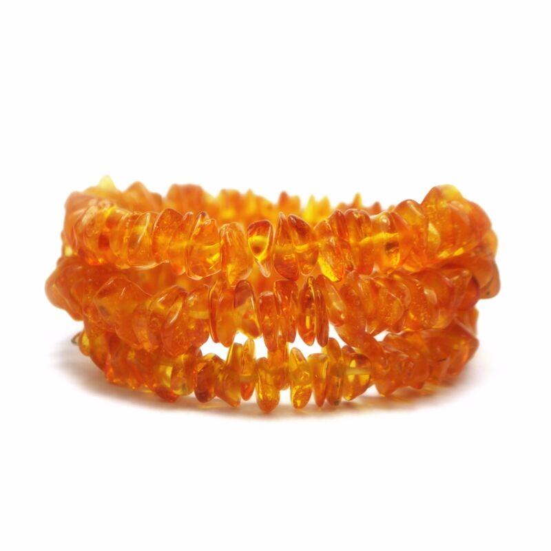 Genuine Baltic Amber Bracelet 18 Gr Honey