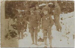 K-U-k-8-Ferrocarril-Kompagnie-Correo-Militar-Autentico-Foto-Ak-1917-L-7437