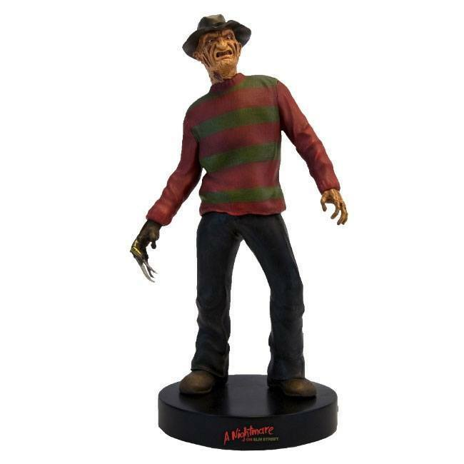 NIGHTMARE on ELM ELM ELM STREET FREDDY KRUEGER 10″ MOTION STATUE with SOUND FACTORY ENT aaae05