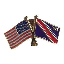 Sigma Phi Epsilon SigEp Flag and USA Flag Lapel Pin