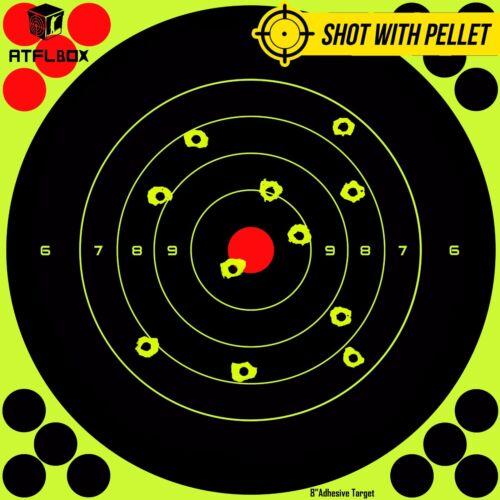 "Papel de tiro objetivo 8/"" Splatter y Adhesivo Palo Para 50 paquetes"