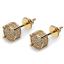Men-Square-Round-Solitaire-Hip-Hop-Gold-Diamond-Screw-Back-Stud-Earrings-8-6-4mm thumbnail 25