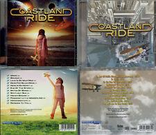 2 CDs, Coastland Ride - Distance (2017) + On Top Of The World (2011) Street Talk