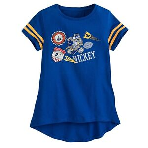 a38bc39e69d6a Disney Store Mickey Mouse Tee T-Shirt For Girls S (5-6), M (7-8), L ...