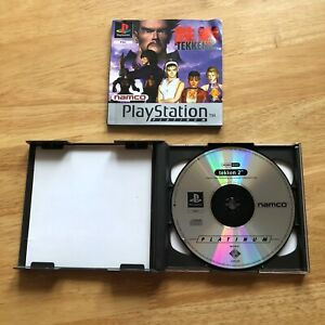 Tekken-2-Sony-Playstation-1-ps1-Pal-Komplett-Retro-Fighter
