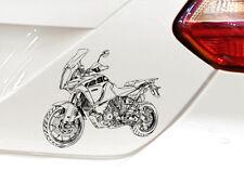 "Super Adventure 1290 S Auto-Motorradaufkleber für den ""Motorrad-KTM-Fahrer"""