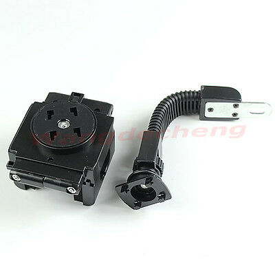 For Mobile Phone PDA GPS MP4 360°Rotation Motorcycle Holder Stand Mount Bracket