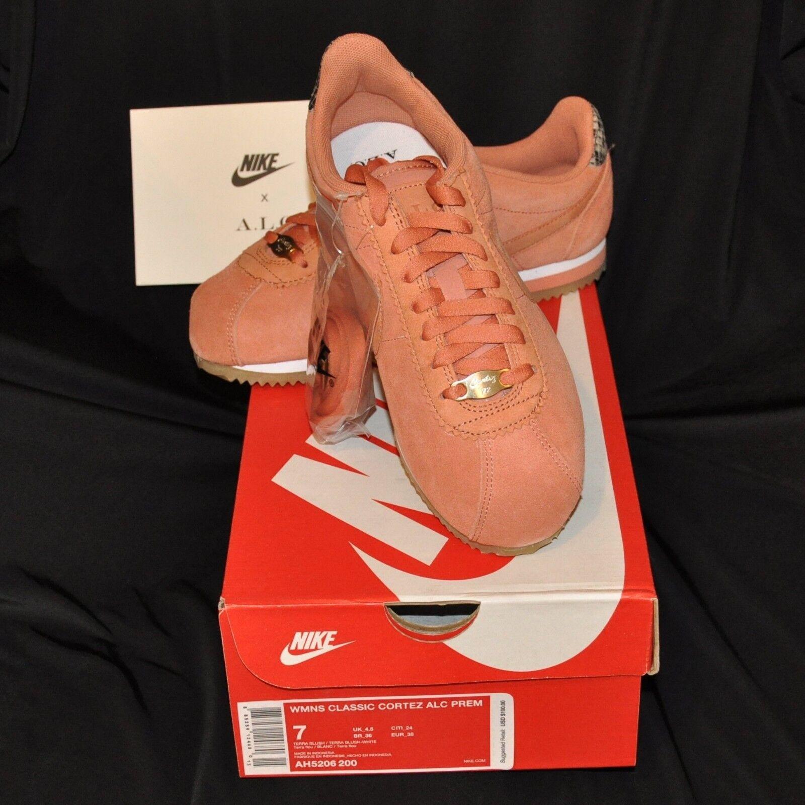 NIB Nike Womens Classic Cortex Premium Size 7 Terra Blush Andrea Liberman HipHop