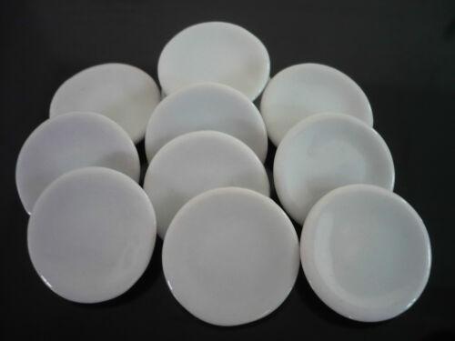 30x20 mm White Round  Plates  Dollhouse Miniatures Ceramic Supply Deco