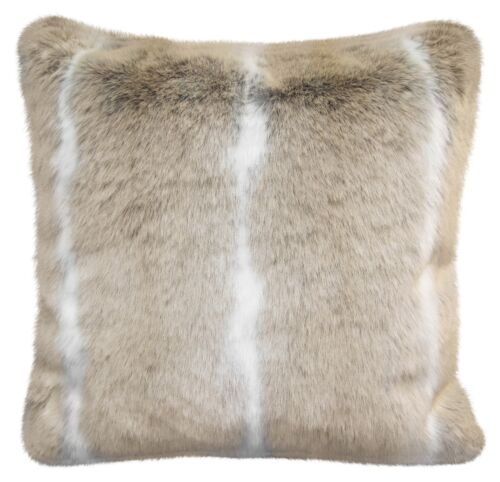 Faux Fur canapé Scatter Cushion Covers Large Super Soft Arctic Cosy Cuddly Feel