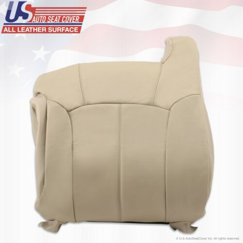 1999 to 02 Chevy Tahoe Suburban Replacement leather seat cover Shale Light Tan