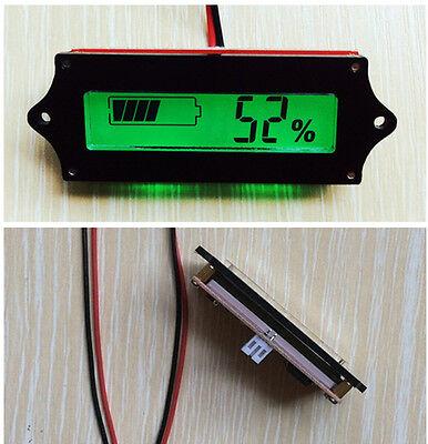 12V Backlight LCD Indicator Battery Capacity Tester Display Lead-acid Monitor PS
