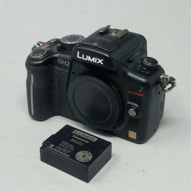 Panasonic LUMIX DMC-GH2 16.0MP Digital Camera Body W/ Battery