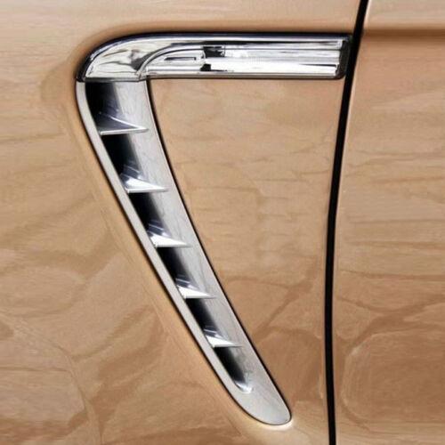 2* Side Fender Hood Air Vent Intake Outlet Grille For Porsche Panamera 2010-2016