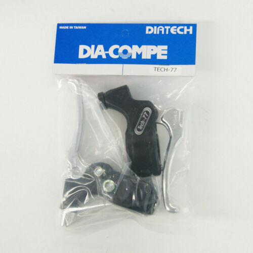 DIA-COMPE TECH-77 Brake Lever Left /& Right Pair without Stopper Silver