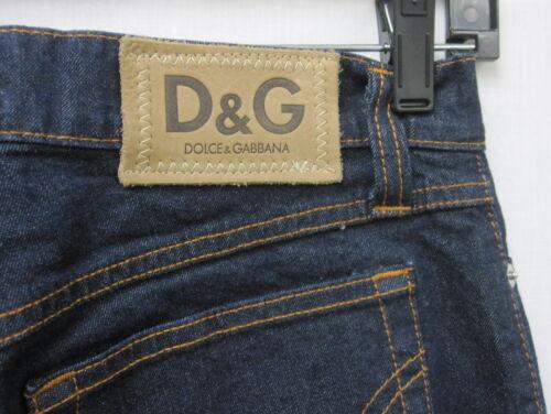 Sz Nwot Dolce Gabbana Blue amp; Jeans 27 Cotton Italy Logo Rq81Sn8