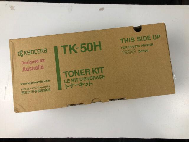 Genuine Kyocera TK-50H Black Toner Cartridge