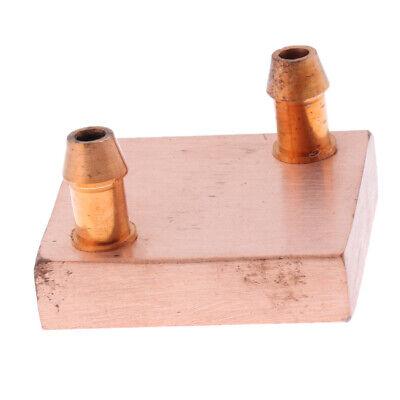 Copper Water Cooling Block CPU Cooler Heatsink 40x40mm Radiators TT4040B