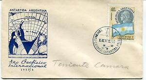 1959 Antartida Argentina Ano Geofisico international Ten. Camara Polar Cover