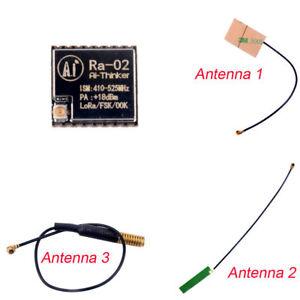 1-2-10Pcs-433MHz-Lora-Ra-02-Wifi-Module-SX1278-IPEX-Socket-with-Antenna