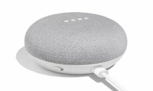 Google-Home-Mini-Smart-Small-Speaker-Chalk-Grey-BRAND-NEW-SHIPS-WORLDWIDE