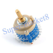 2pole 24step Rotary Switch Attenuator Volume Control DIY Pot Potentiometer small