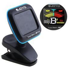 JOYO Jmt-03 Super Tight Clip-on Guitar Instrument Tuner Tap Tempo Metronome