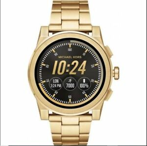 3bfd238d5256 Michael-Kors Grayson Mkt-5026 Smartwatch S Gold Men New Access Smart ...