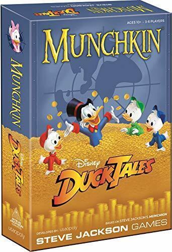 English Munchkin Ducktales