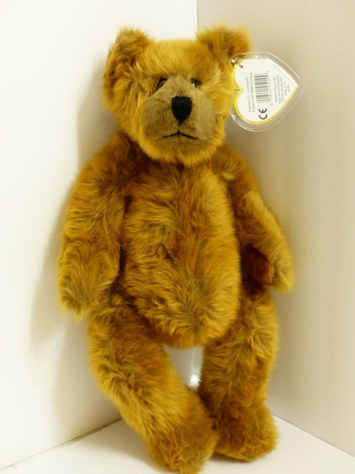 NWT Ty Sally Winey  Sam  the Bear Artist Signed w Predected Swing Tag VHTF MS