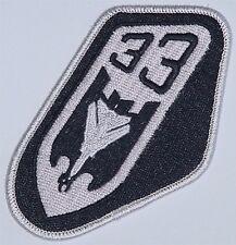Luftwaffe Aufnäher Patch JaBoG 33 - TaktLwG 33 (Schwarz) ........A2632