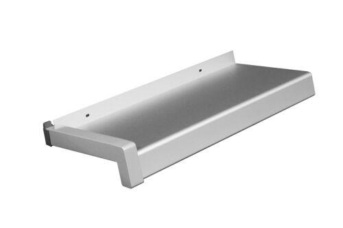 Aluminium rebord de fenêtre argent ev1 50 mm déchargés extérieur rebord de fenêtre extérieur