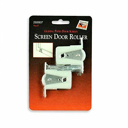 Andersen Screen Door Rollers - Gliding Patio Door Screen 1 P