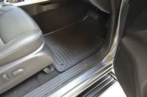 Rubber-Floor-Mats-for-Nissan-Navara-NP300-D23-Dual-Cab-15-18-Black