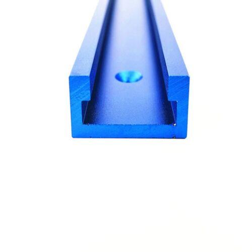 300-600mm Aluminium T-Track T-Slot Miter Jig Fixture Tool Woodworker Router