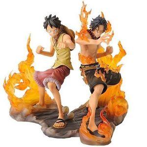 Nouveau Une Pièce Dx Figurine Articulée Brotherhood Animation Prize Luffy Ace
