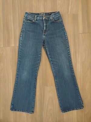 Jeans Nydj Not Your Daughter's Jeans Womens Bootcut Size 10p Petite Dark Wash Stretch Women's Clothing
