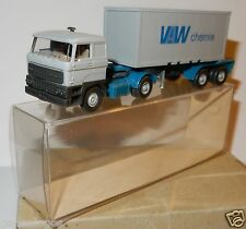 WIKING HO 1/87 TRUCK CAMION DAF 20 FT SEMI REMORQUE CONTAINER VAW CHEMIE docker