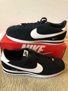 competitive price 6a8ec 9fd04 Image is loading Nike-Cortez-Basic-SE-Mini-Swoosh-Black-white-