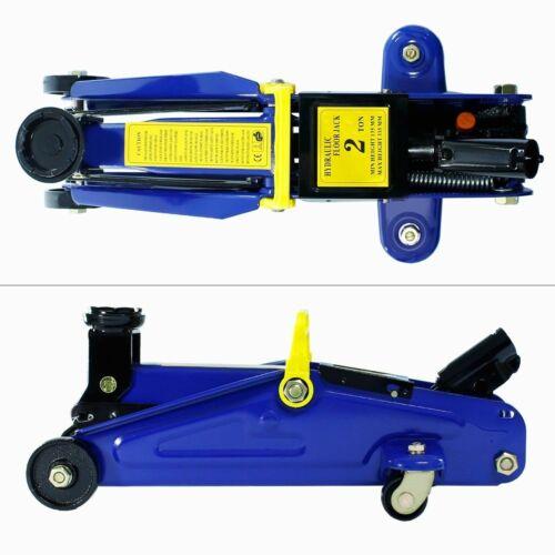 2 Tonne Low Profile Hydraulic Car Trolley Floor Jack Mechanic Garage Tool