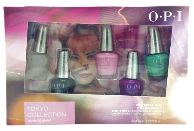 OPI Mini Tokyo Collection Spring 2019 Infinite Shine Nail Lacquer ...