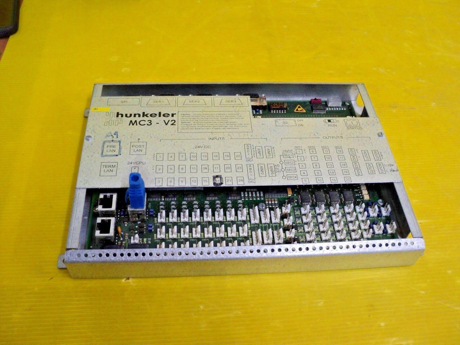 Hunkeler MC3-V2 MC-3 ART 8111.00044.9 407083 023 VER 2.3