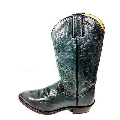 Dan Post Mens Grey Western Cowboy Boots Size 10.5 USA.