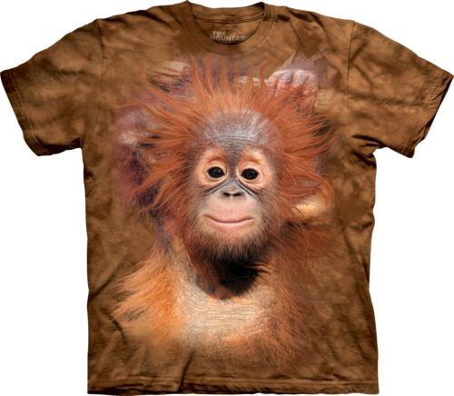 The Mountain Unisex Adult Happy Chimp Animal T Shirt