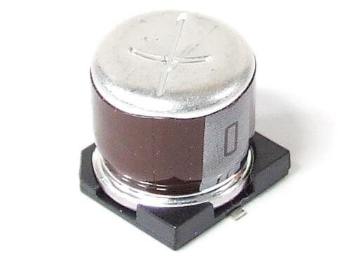 BC Components 100µF 100uF 20/% 50V SMD Electrolytic Capacitor Kondensator Elko