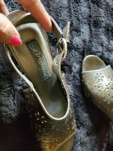 Brighton Valley Pewter Shoes 7.5M