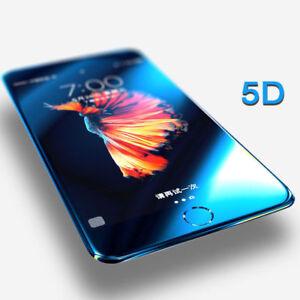 5D-FULL-COVER-9-H-verre-trempe-Film-de-protection-d-039-ecran-pour-iPhone-8-7-6-S-X-Plus
