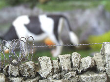 1:32 SCALE BARBED/RAZOR WIRE FENCE  FOR BRITAINS FARM DIORAMA 500cms FB040