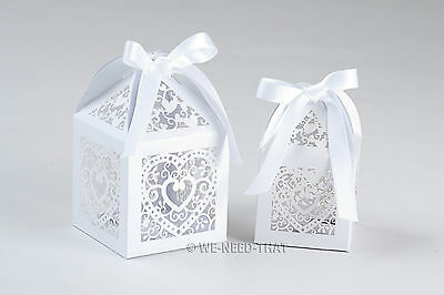 Wedding Favours Luxury Sweets Gift Boxes Table Decorations Place Cards Name Tags