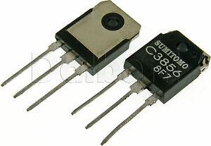 2SC3856-Original-New-Sumitomo-Silicon-NPN-Triple-Diffused-Transistor-C3856